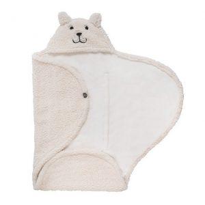 Jollein wikkeldeken off white teddy