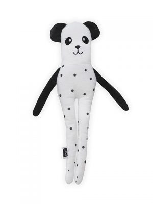 Jollein softy bear zwart/wit