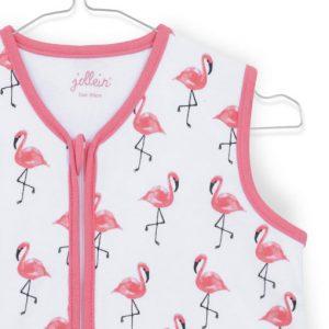 Jollein zomer slaapzak Flamingo