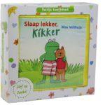 Slaap lekker Kikker Groot zacht knuffelboek
