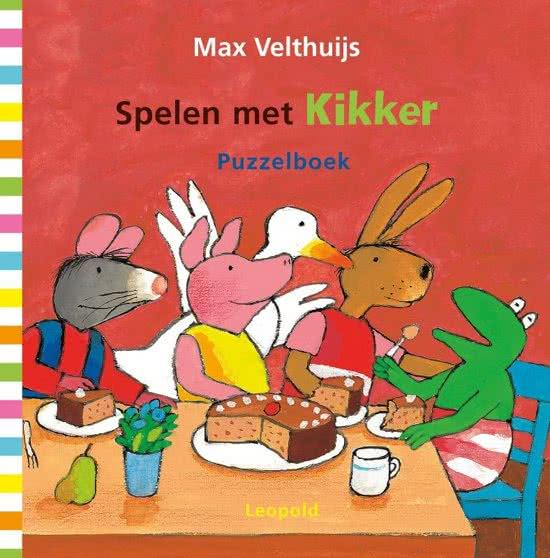 Spelen met Kikker Puzzelboek