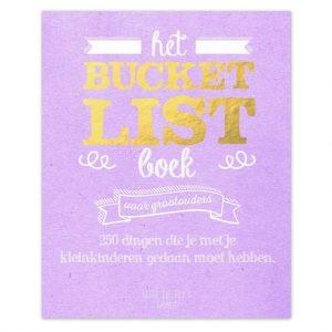 Bucket list boek
