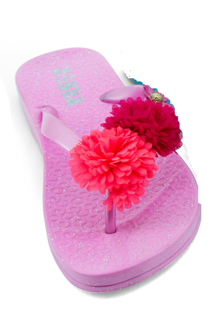 afaee4ffb6ad Teenslippers roze - Belly bloz - baby en kinderaccessoires
