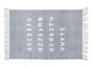 ABC Kleed grijs