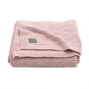 Deken River knit Pink