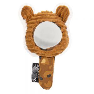 Pluche tijger spiegel